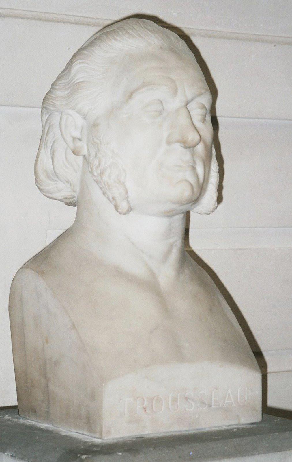 buste de trousseau armand en marbre