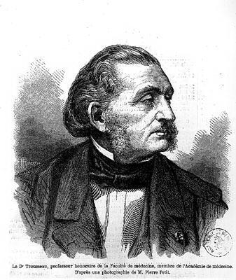 portrait gravé armand trousseau